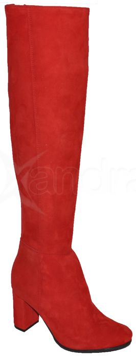 c95016d429 Dámske kožené čižmy OLEKSY 8389 - červené - kabelkyaobuv.sk - Xandra ...