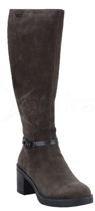 93fe6a72290e Dámske kožené čižmy Big Star BB274360 - 9885 - hnedé - kabelkyaobuv ...