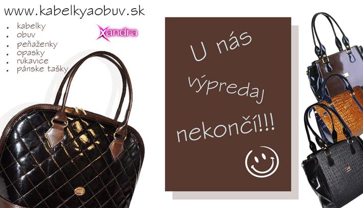 954f222f17 VÝPREDAJ - KABELIEK - kabelkyaobuv.sk - Xandra