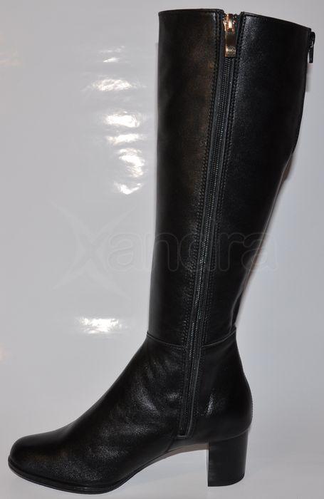 7201a30cec66 Dámske kožené čižmy Olivia Shoes 8473 - čierne - kabelkyaobuv.sk ...