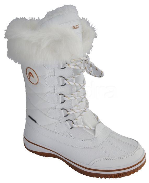 c0ca899372e9 Dámske snehule HEAD 9892 - biele - kabelkyaobuv.sk - Xandra