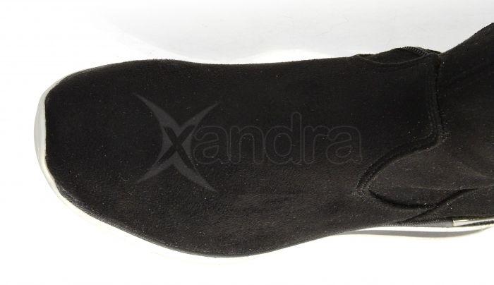 d158e0fcd7615 ... Dámske elastické čižmy nad kolená - Olivia Shoes DCI029/1 - 9909 -  čierne ...
