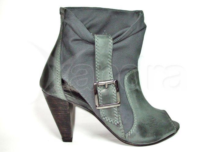 Dámska kožená obuv MUSTANG - šedá - kabelkyaobuv.sk - Xandra 183030430f