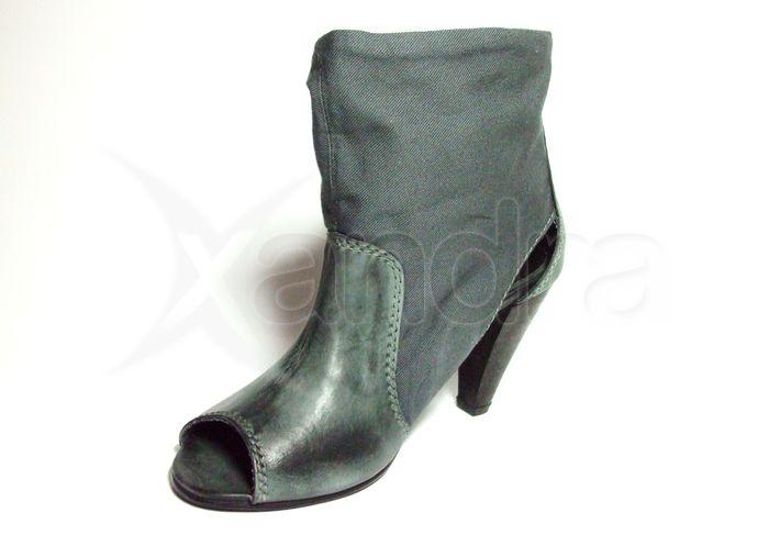Dámska kožená obuv MUSTANG - šedá Dámska kožená obuv MUSTANG - šedá 8388ce9c03