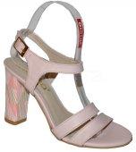 Kožené sandálky KARINO - pudrové 5bcdf740145