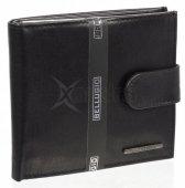 Pánska kožená peňaženka Bellugio - 9936 - čierna ec24e29b7ab